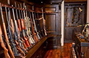 rifle storage