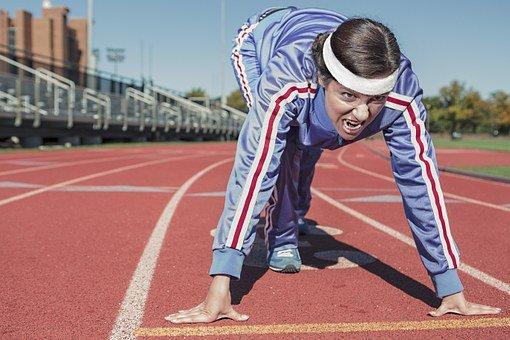 an athlete
